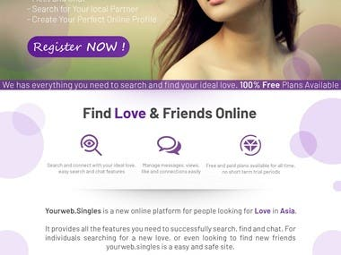 Dating Site Design