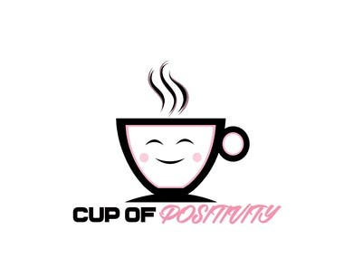 Logo for cup of positivity