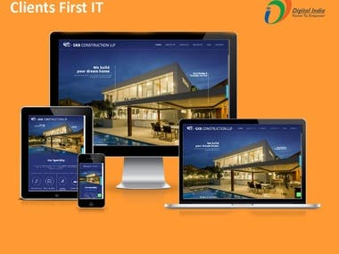 Real estate website solution
