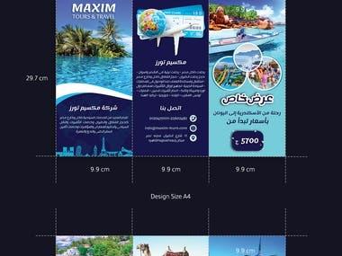 maxim tours brochure