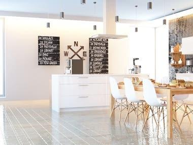 Interior Design 3Ds Max