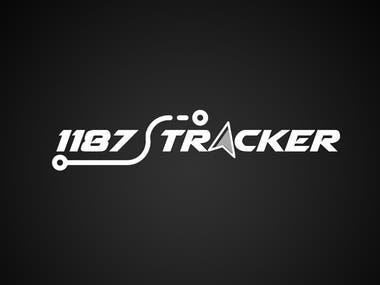 1187 Tracker Logo Design