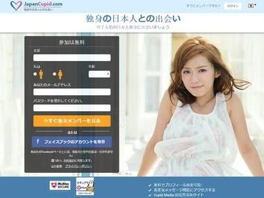 VueJS & Laravel - JapanCupid
