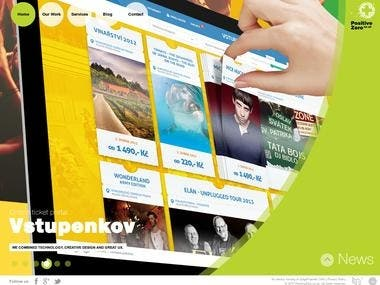 Travel Company site