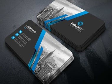 I will do modern business card for you