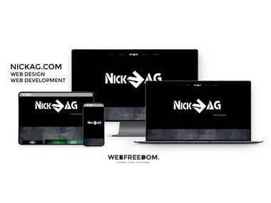 Nickag Website Development