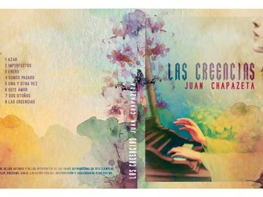 cd cover design - Chapa Z 2018