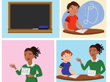 Vector Illustrations - Educational Services