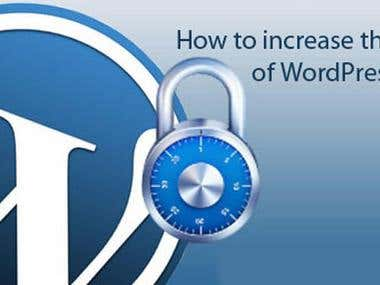 How to increase the safety of WordPress