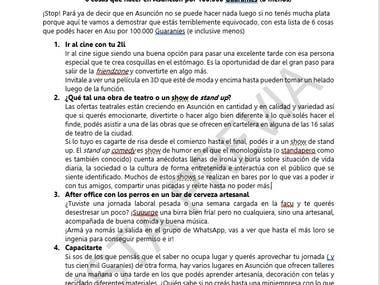 Article: 6 cosas que hacer en Asunción por 100.000 Guaraníes