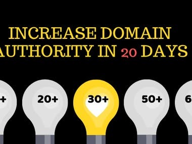 Increase Domain Authority fast