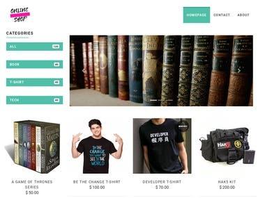 Online Shop(Django)
