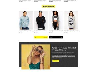 Negozio - Multi-purpose eCommerce PSD Temlate