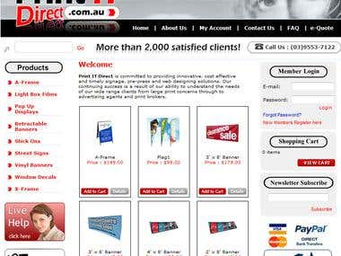 E-Commerse Websites
