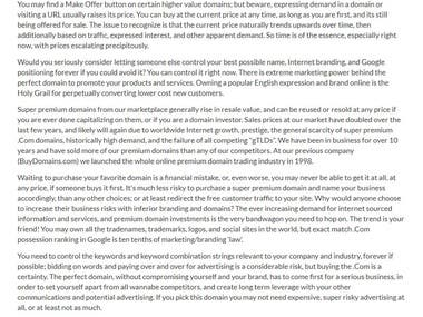 Domain selling website (https://www.kimberlyrosa.com)