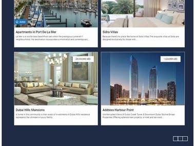 Online property site