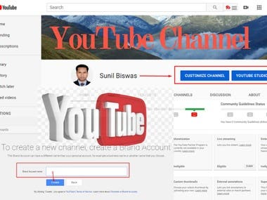 Promote Video,Thumbnail, Organic Youtube Channel For Ranking