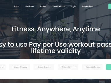 Universal Fitness Pass