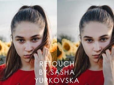 Photo Retouch by Sasha Yurkovska