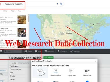 Web Research Data Collection