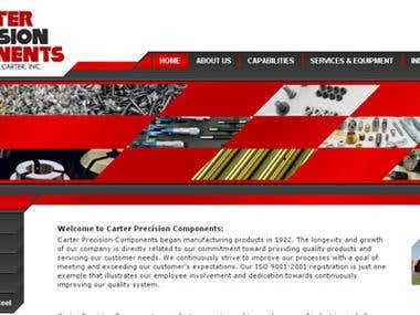 Website for low carbon fine wire company