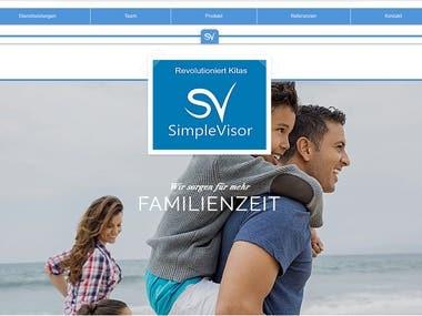 SimpleVisor - Webapp