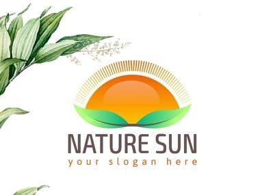 Sunny Nature Logo Design