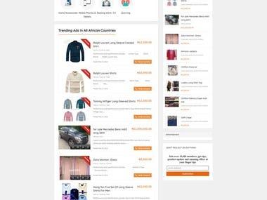 Woocommerce web and app (afrikbid.com. -> mobile JIji.ng)