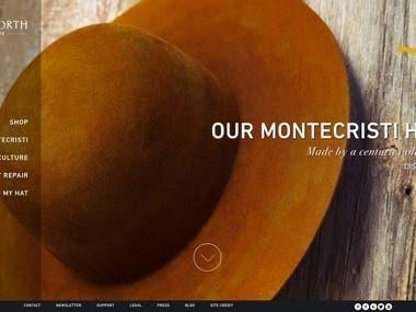 E-commerce online shop website design and development