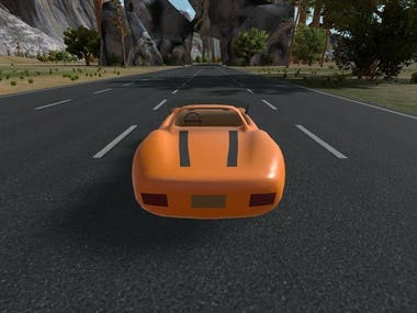 Racing Level for Unity