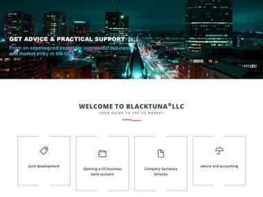 A Corporate Website