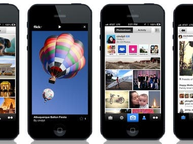 Mobile Photo Share App