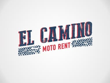 Logo design for motorcycle rental agency