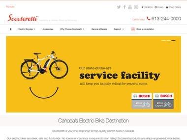 Shopify site develop
