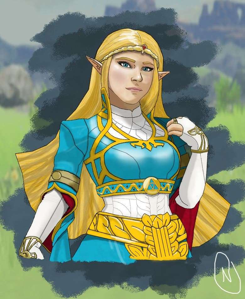 Zelda Breath Of The Wild Fan Art Freelancer