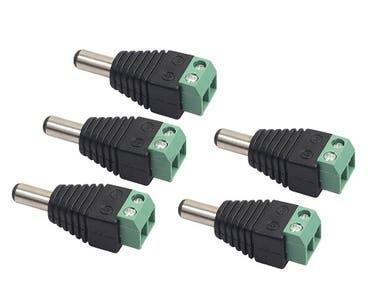 Source led strip light connector