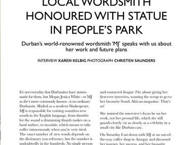 Local Wordsmith Honoured with Statue in People's Park