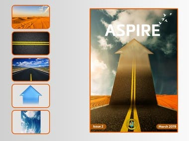 Aspire Magazine Cover