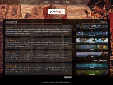 World of Warcraft community website
