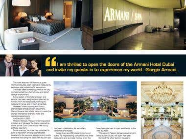 The Armani story continued
