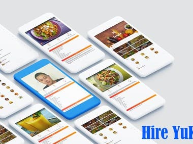 React native food ordering App