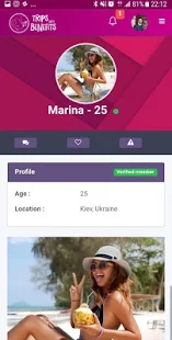 TripsWithBenefits - Dating app for travel lovers