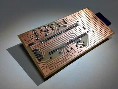 Hand-made PCB