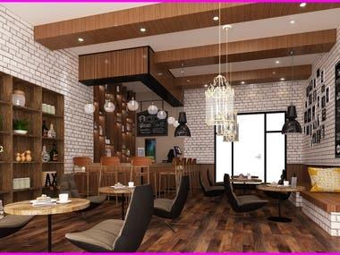 Interior Design of a Shop
