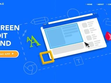 SCRN.LI - Web extension design upgrade