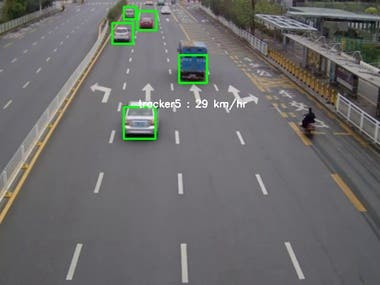 Car Speed Detection Application