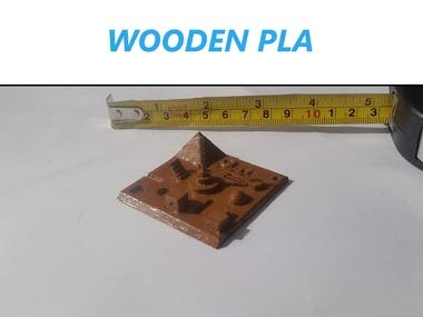 Wooden PLA Printing