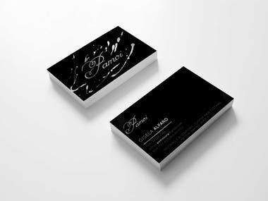 Splash Business Card Design