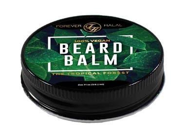 Label design for Cosmetic Product Range - Beard Balm