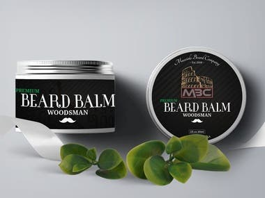 Beard Balm | Label Design